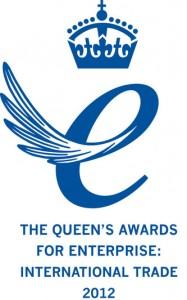 Queen's Award for Enterprise 2012 (International Trade) Winner